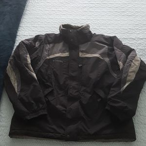 Men's Columbia waterproof jacket